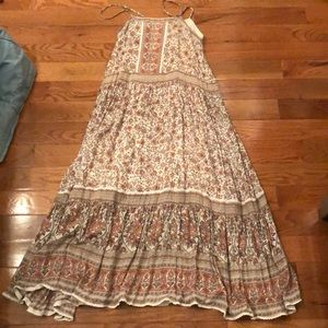 Swap or sell Spell jasmine strappy maxi dress